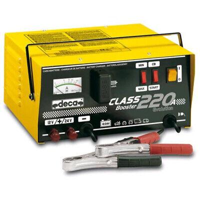 Booster Avviatore Carica Batterie Deca Class 220A 12-24 Volt - Moto Auto 341000