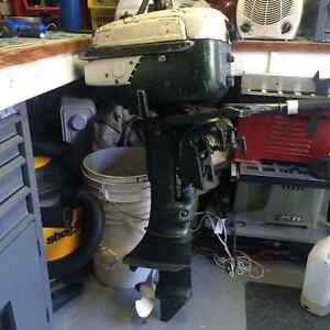 6.5 HP Johnson outboard