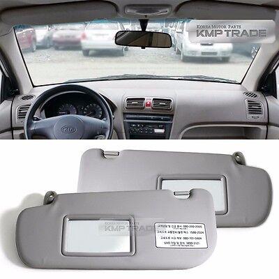 Interior inside Sun Visor Shade LH 1P Gray OEM Part For GM Chevrolet Sonic 2012+