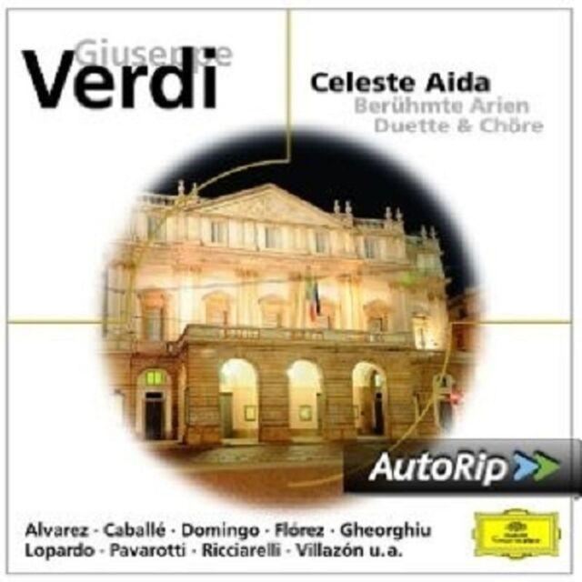 DOMINGO/FLOREZ/PAVAROTTI/+ - CELESTE AIDA-BERÜHMTE OPERNARIEN  CD NEU