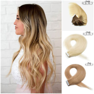 ★PROMO★ HAIR EXTENSIONS 100% REMY, TAPE IN, MICRO BEADS, WEFT