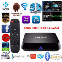 M8S FULLY PROGRAMMED BRAND NEW Android 4.4 KODI 15.2,Quad Core