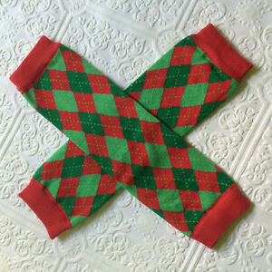 Christmas leg warmers, baby leggings, Christmas baby leggings
