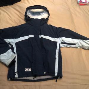 Roxy ski jacket and powder room snow pants ( size 6)