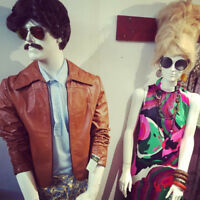 A friendly staff needed for a cool vintage shop downtown