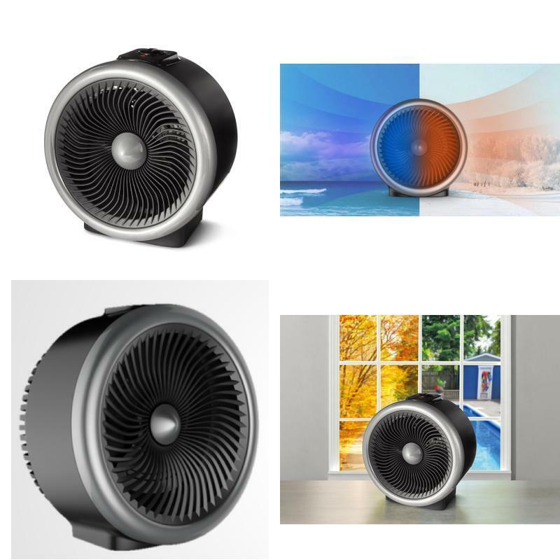Mainstays 2 In 1 Portable Heater Fan, 900-1500W, Indoor, Bla