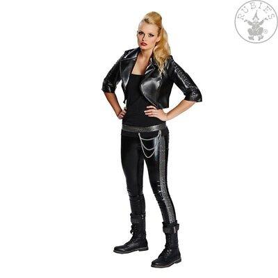 RUB 13812 Damen Karneval Halloween Kostüm Rockerbraut Rocker Gr. 32 - 42