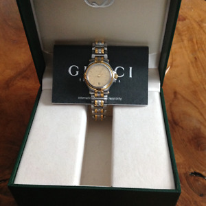 Stunning Authentic Gucci Woman's Watch