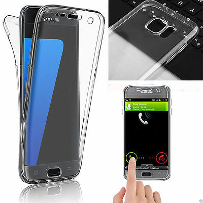 Crystal Clear Full Body Soft Case Cover Protector For Samsung Galaxy S7/ S7 Edge