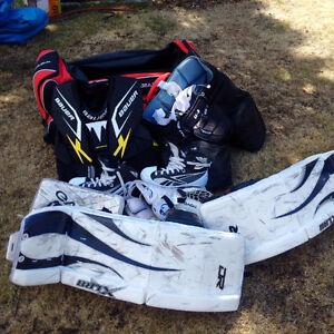 Complete set goalie equipment