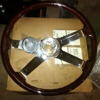Brand New Woodgrain Steering Wheel