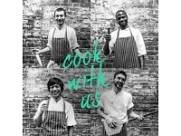 Chef de partie wanted. Immediate start available