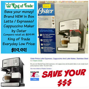 Be your own Barrista! Oster Cappuccino Maker - King of Trade!