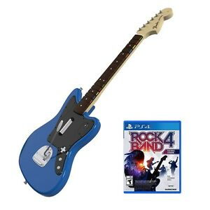 Rock Band Rivals Wireless Fender Jaguar Bundle for PlayStation 4