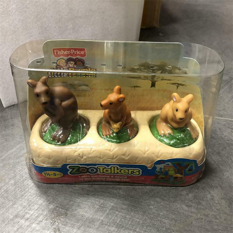 3X Fisher Price Little People Farm Animal Billy Goat figure toy Xmas gift