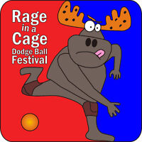 Rage in a Cage Dodge Ball Competition