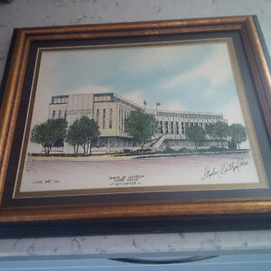 County of Waterloo Court House Sketch Stephen Britton Oslen
