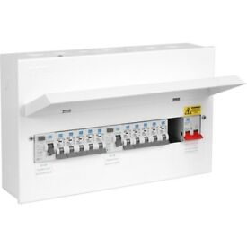 fuse box replacement/ consumer unit installation and electrical  installation certificate