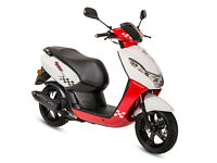 PEUGEOT KISBEE SPORTLINE 50 - SPORTS SCOOTER - LEANER LEGAL - TWIST & GO