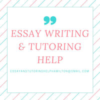 Tutoring and Essay Writing Help $20/hour