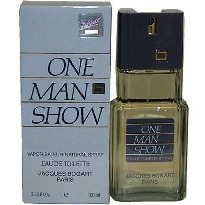 ONE MAN SHOW by Jacques Bogart Cologne 3.3 oz / 3.4 oz New in Box