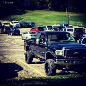 Lifted 2006 Ford F-250 Xlt Pickup Truck
