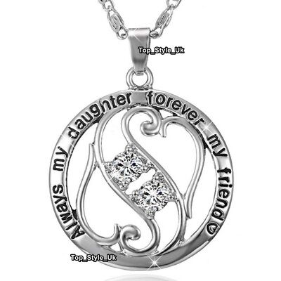 Xmas Gifts For Her Daughter Necklace Silver & Gold Jewellery Presents Niece E5 ()