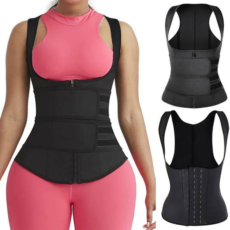 ClASSIC FULL VEST LATEX WAIST TRAINER COLOMBIAN FAJAS GIRDLES BODY SHAPER CORSET