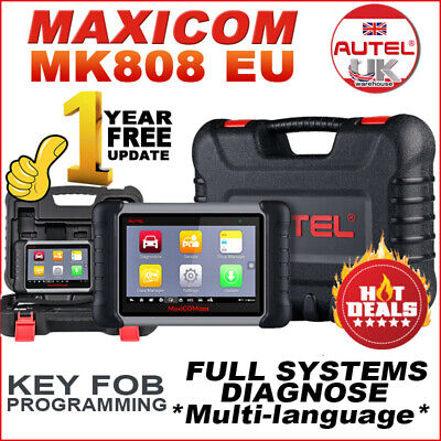 2020UPGRADE EU Autel MaxiCOM MK808 PRO Car Diagnostic Scanner Auto Engine Reader