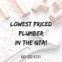 PLUMBER ❗️❗️ Sameday CHEAP ☎️647-232-5731