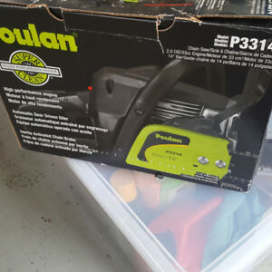 New Poulan Gas Chainsaw. Still in box
