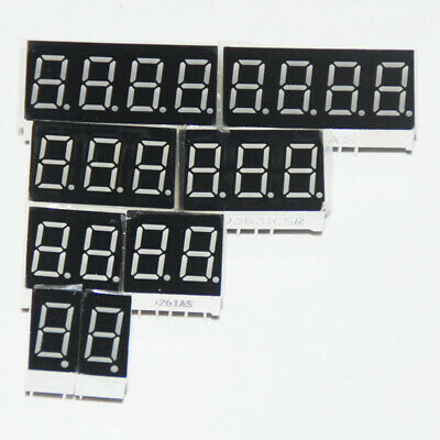 4pcs 0.36inch 123456 Bits Clock Digit Led Display 7 Segment Red Green Cc Ca