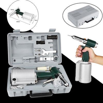 Pneumatic Air Hydraulic Pop Rivet Gun Riveter Riveting Tool Kit Wcase