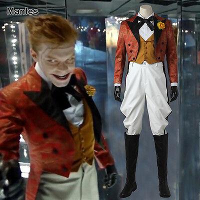 Joker Costumes For Men (Gotham Jerome Valeska Cosplay Joker Costume Halloween Men Tailcoat Outfit)