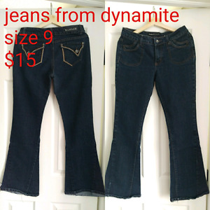 Jeans size 9 - $15