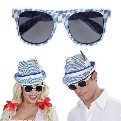 Sonnenbrille Bayern getönt Brille Blues Brothers Oktoberfest Schlagerparty Disco