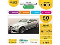 Mercedes-Benz E250 FROM £109 PER WEEK!