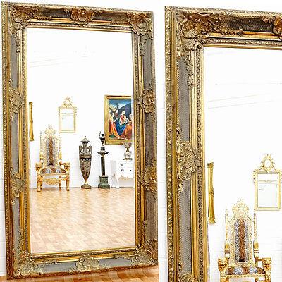 VILLA-SPIEGEL MONTE CARLO GOLD ca.212x126cm STILKLASSIKER WANDSPIEGEL MONUMENTAL