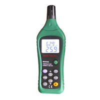 Ambient Temperature Humidity Meter, Web Bulb & Dew Point 220209