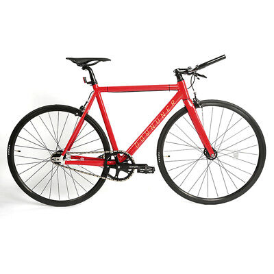 c55650ce927 Fixed Gear Single Speed Urban Fixie Road Bike Aluminum Fixed Bike 540 Frame  US