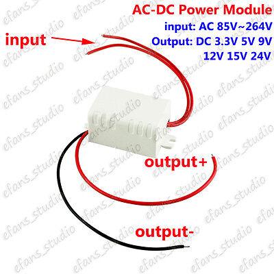 Ac-dc Power Supply Module Ac 110v 220v To 3.3v 5v 9v 12v 15v 24v Buck Converter