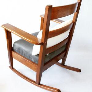 Antique Craftsman Rocking Chair
