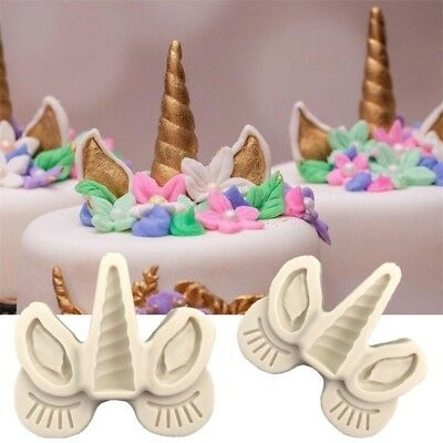Sugarcraft Unicorn Silicone Mold fondant Cake Decorating Tools Chocolate Mould