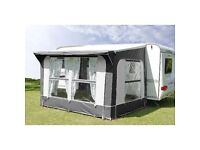 Unused - Quest Base Camp Romany Elite Porch Awning - 300cm heavy duty, will fit most caravans.