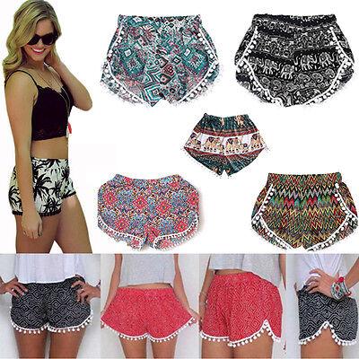 Fashion Women Hot Pants Summer Casual Shorts High Waist Beach Sports Short Pants