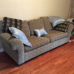 COMFORTABLE AND SPACIOUS COUCH AND CHAIR. GREAT CONDITION