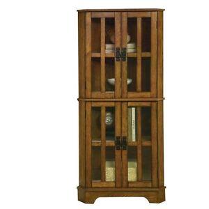Oak Corner Cabinet | eBay