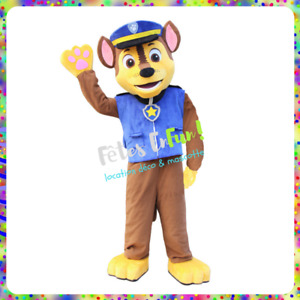 Mascot costumes rental CHASE STELLA pat patrol SOUTH SHORE