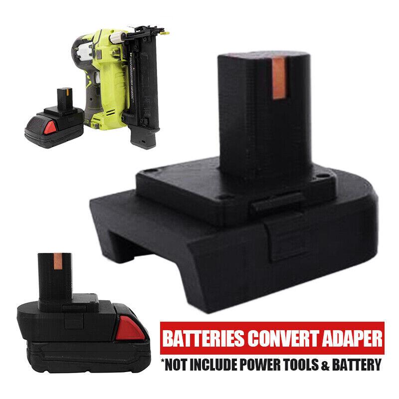 For Milwaukee DM18RL RYOBI 18V/20V Lithium Batteries Convert
