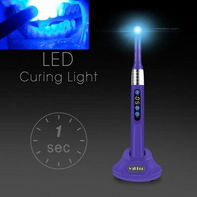 Purple Vakker Dental I Led Curing Light 1 Second Cure Lamp 2000mwc Us Stock